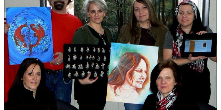 """""""We wanted to organize an event that would give artists and artisans a forum to showcase their work and the opportunity to network with others and to introduce their creations to the public,"""" said Roxanne Delage, co-op member."""