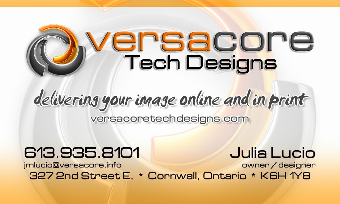 VersaCore Tech Designs presents THE EVENTS