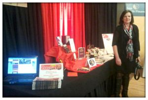 The Seeker on Location at the Bridal Show!