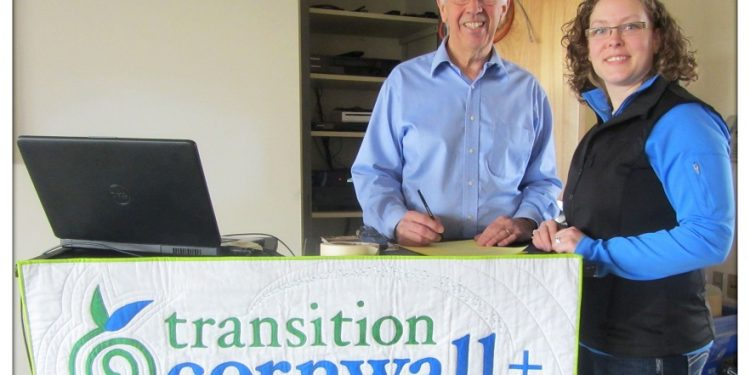 John Towndrow and Jennipher Carter Transition Cornwall