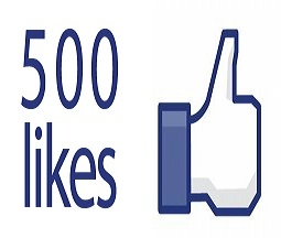 The Seeker 500 likes Facebooke