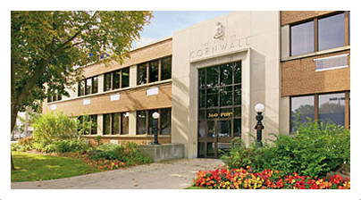 Cornwall Ontario City Hall
