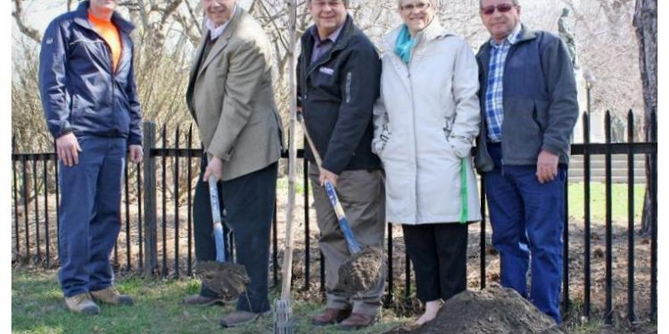 Earth Day Cornwall Ontario Tree Planting
