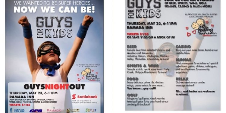 Guys Night Out May 23rd Cornwall - Seeker