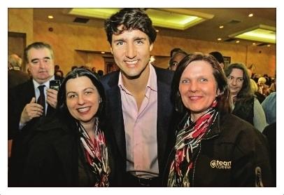 Justin Trudeau Cornwall Ontario Liberal