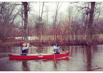 Karine Parthenais Raisin River Canoe Race
