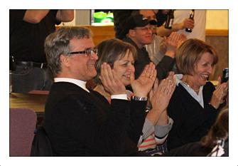 Rod McLeod Cornwall Girls hockey win Kraft Contest
