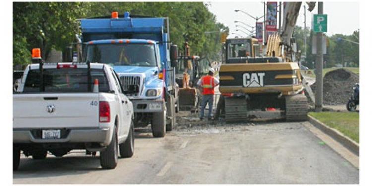 construction sites cornwall ontario