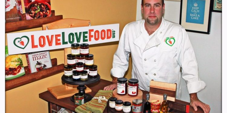 Tony Lakroix Love Love Food