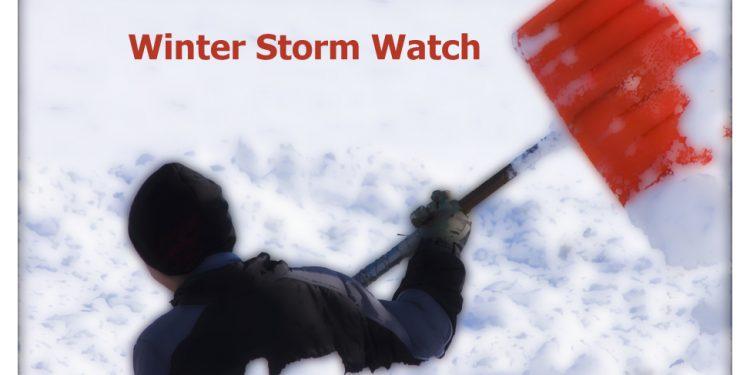 Winter Storm Watch Cornwall Ontario