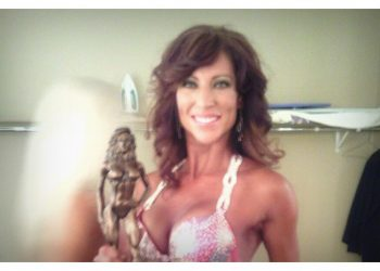 2nd place National Bikini Champion with Ontario Physique Tressia Murphy