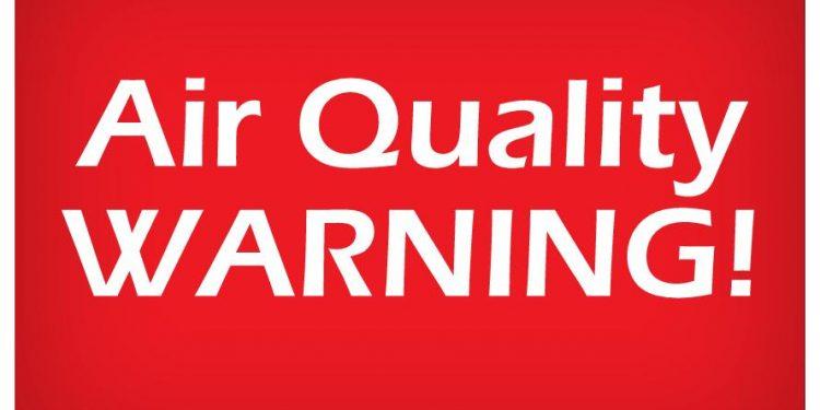 Air Quality Warning Cornwall Ontario