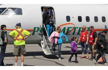 City of Cornwall evacuees from Kashechewan