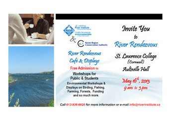 Cornwall River Rendezvous on May 16th