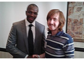 Donovan Bailey (Olympic Gold Medalist) and Matthew Atchison