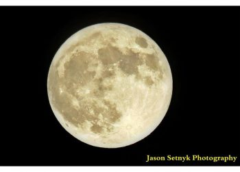 Super Moon Jason Setnyk Photography