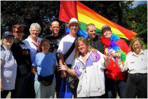 Pride Flag Cornwall Ontario City Hall