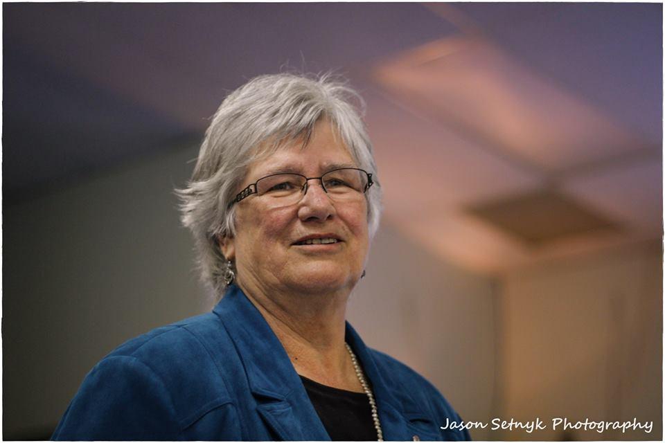 Elaine MacDonald Seeker NDP AGM