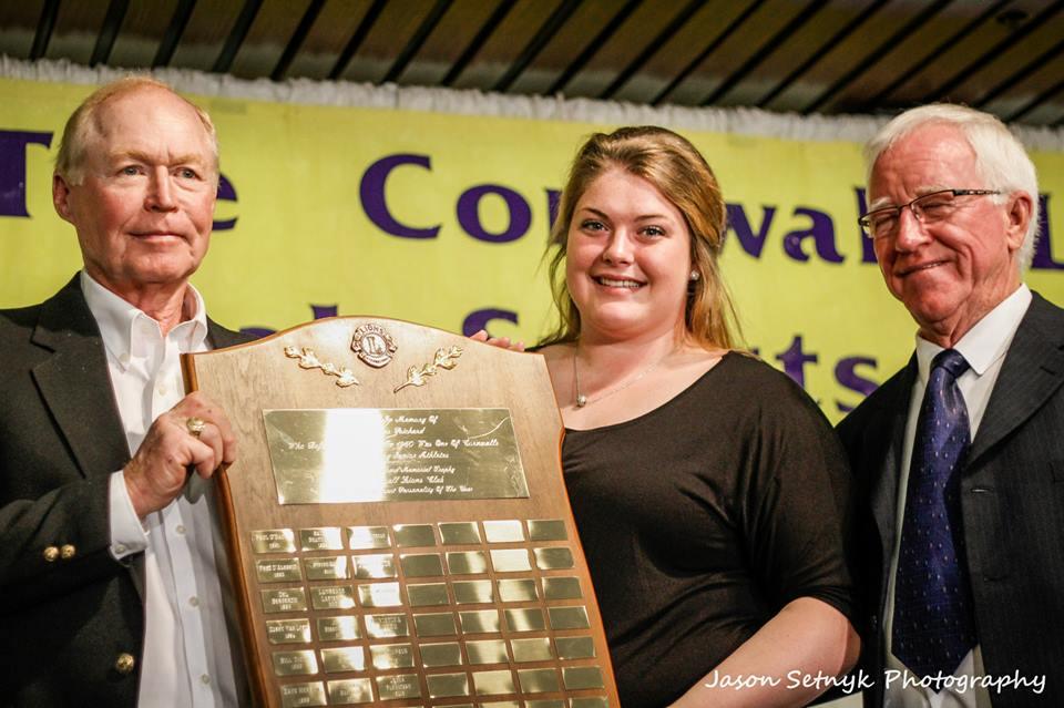 Kelly McGillis Jacques Richard Trophy