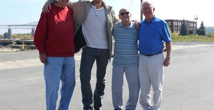 ARTICLE: RODNEY WILSON. PHOTO CREDIT: John Lister FROM L to R: Bernie Larue, Brock Frost, Gaston Gaudet and Jim McDonald