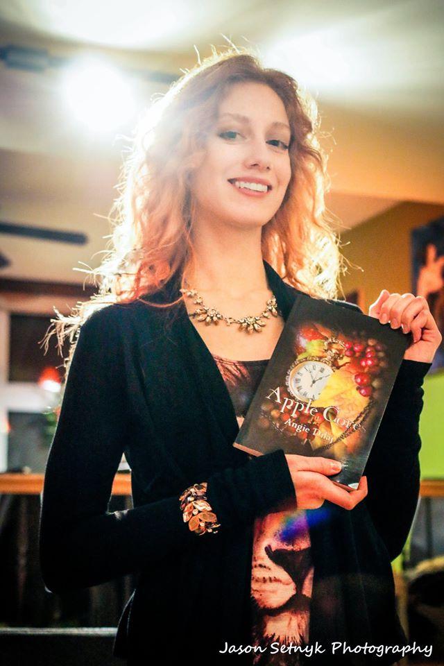 Angie Dilaj Apple Cores Book Seeker
