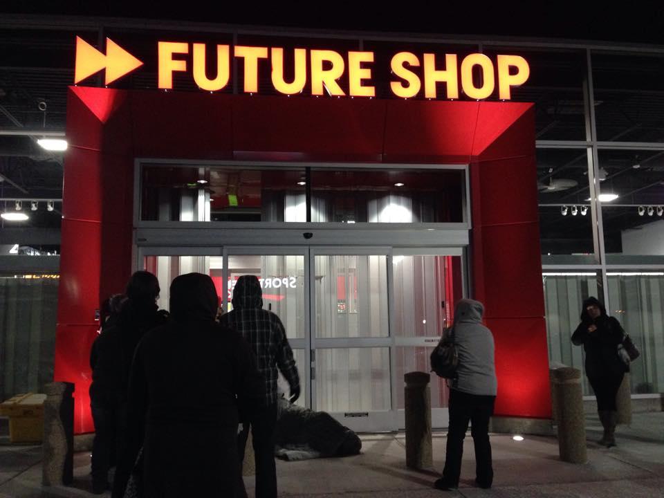 Future Shop Cornwall Ontario Black Friday