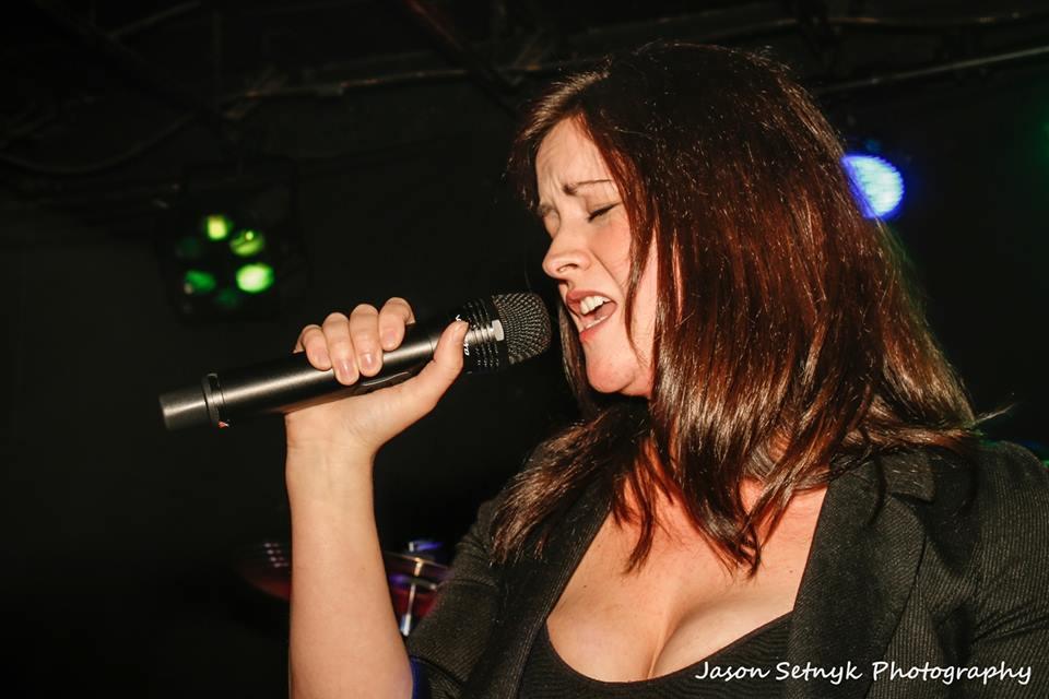 Marielle Chipman singer above the violet