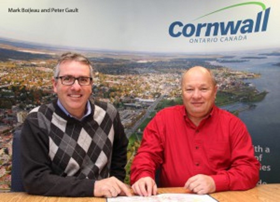 Mark Boileau and Peter Gault Team Cornwall