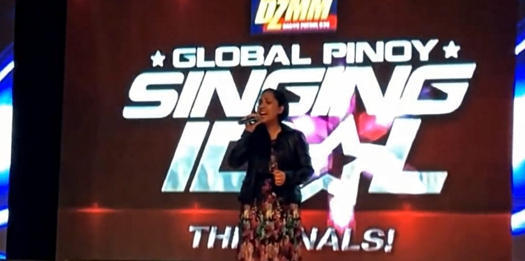 Aramico's lead singer, Michelle Lao, is the First Runner Up in the 2014 DZMM World Caravan Global Pinoy Singing Idol finals.