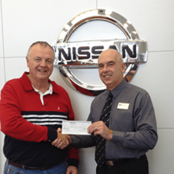 Cornwall Nissan Donation