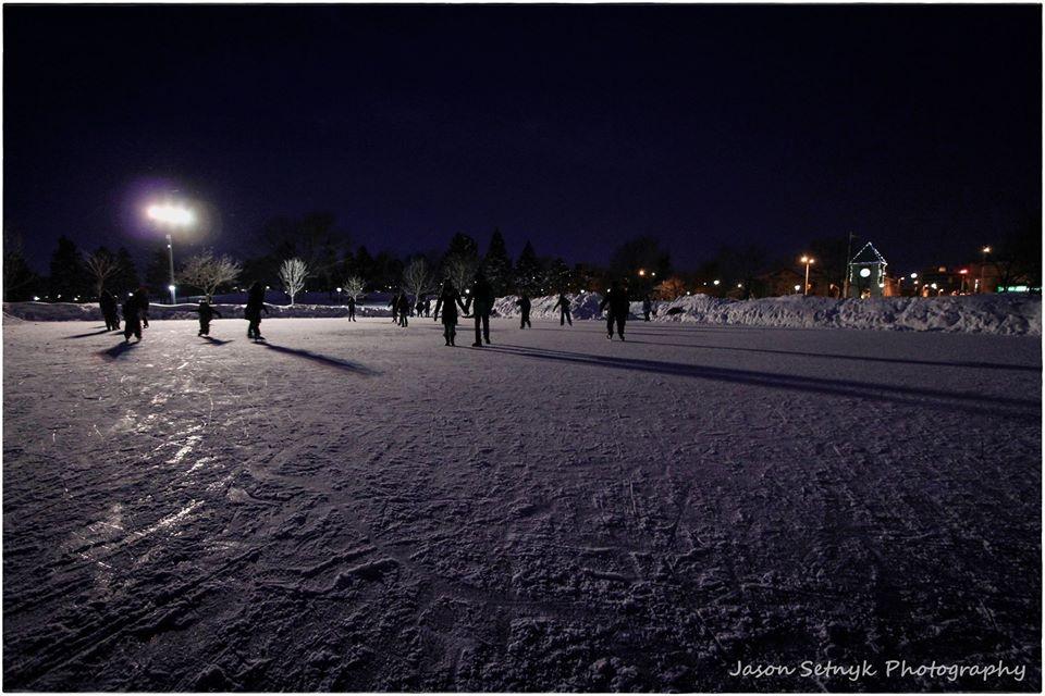 Winterfest Skate outdoors