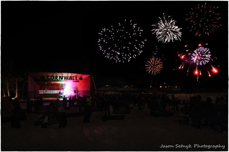 Winterfest fireworks