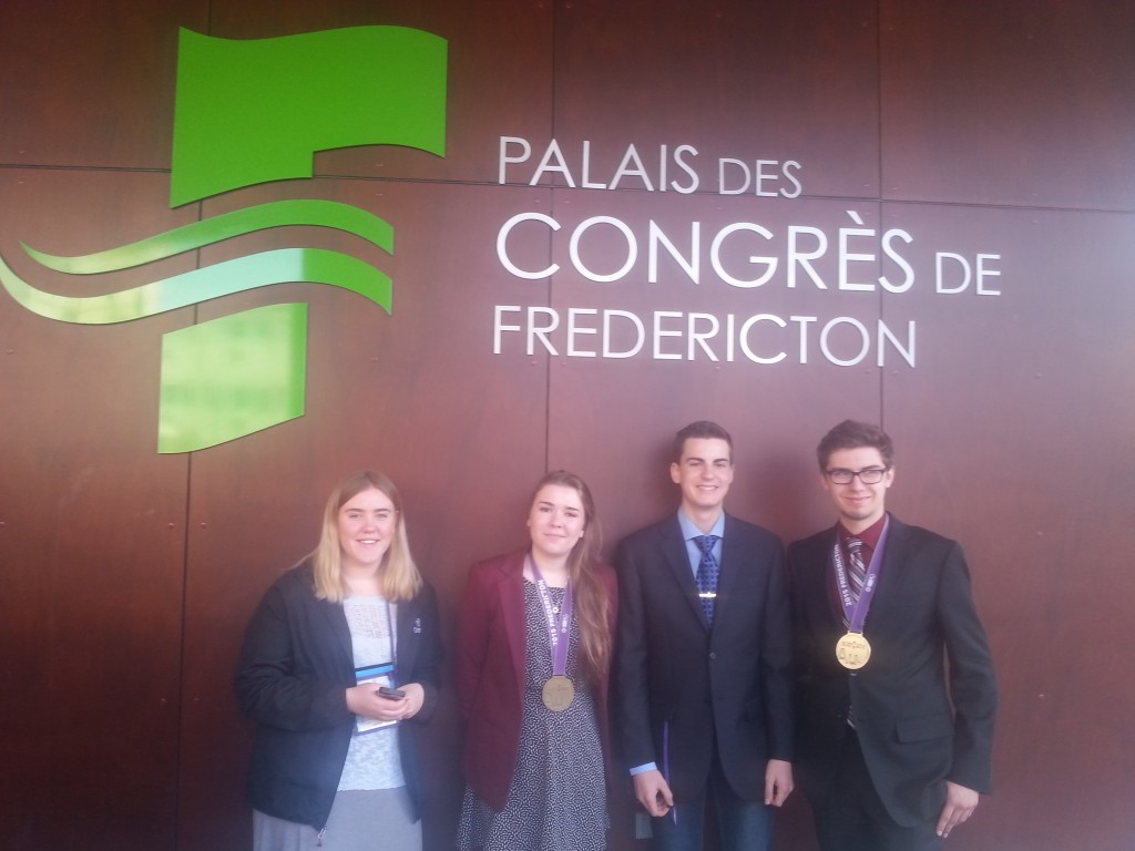 Local winners attend national Science Fair in Fredericton