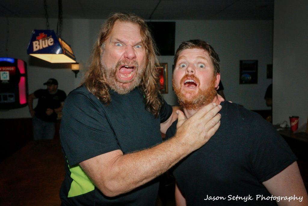 Hacksaw Jim Duggan and Mark Vincent 002