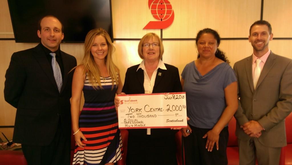 Photo-Op Scotiabank & CYC -- Social @ The Social Event