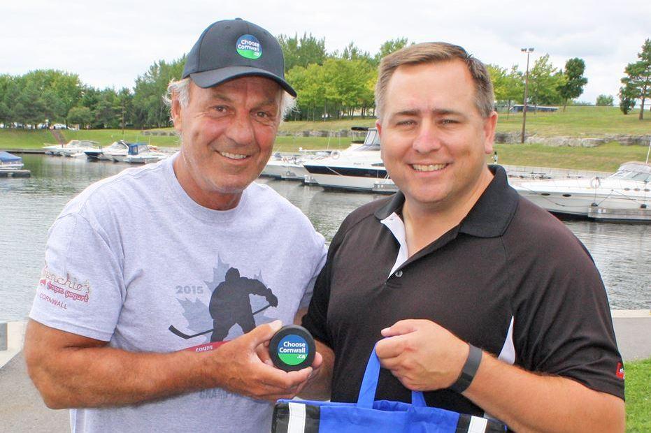 Guy Lafleur and David Murphy
