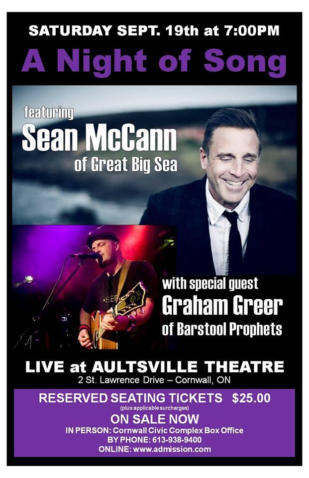 Sean McCann Great Big Sea