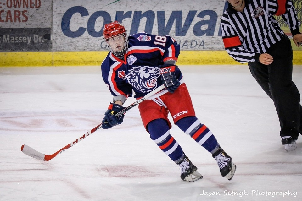 Nick Lalonde Cornwall Colts