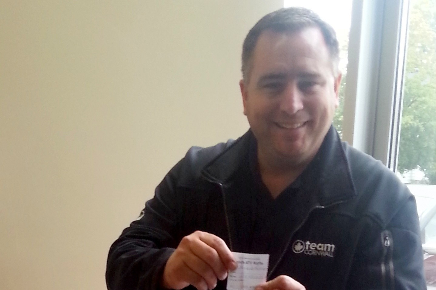 United Way Winning Ticket