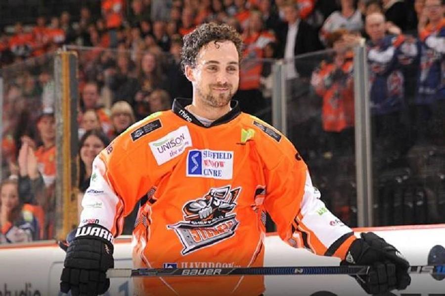 Jeff Legue 500th game hockey EIHL