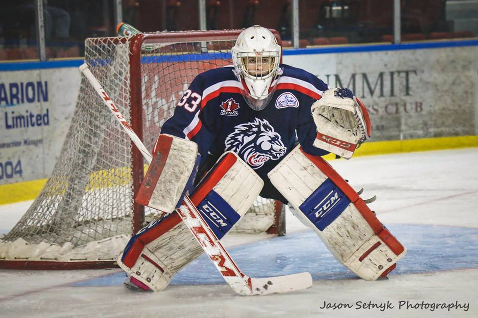 Cornwall Colts Win 4th In A Row Liam Lascelle Makes 33 Saves
