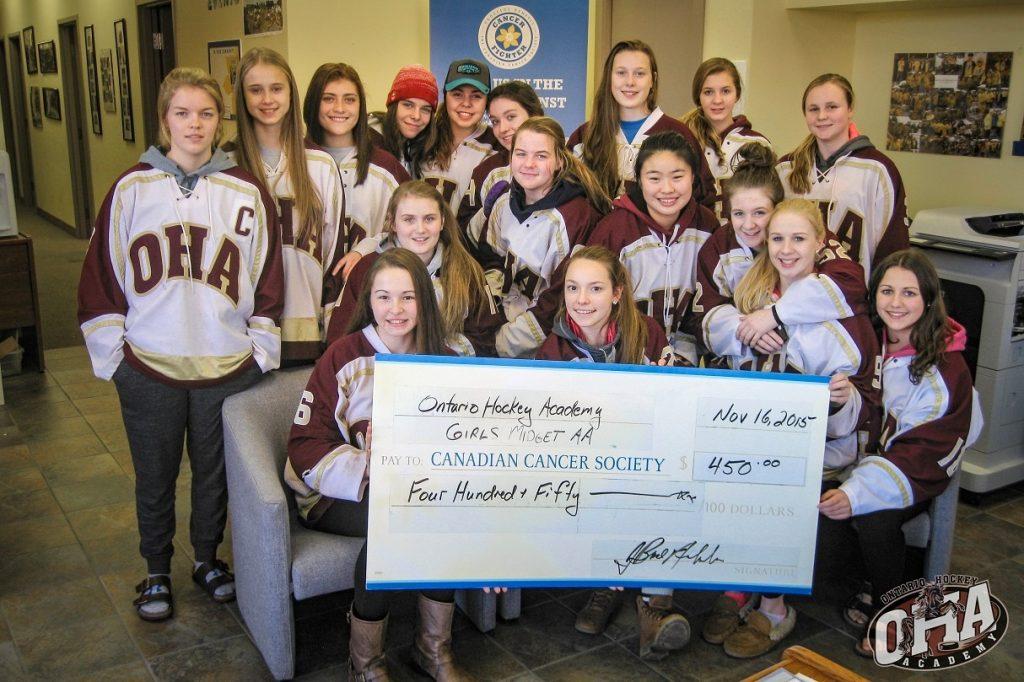 OHA Girls White Cancer Fundraiser web