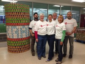 Canstruction_Agape Team