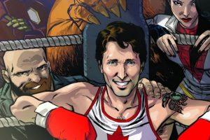 Justin Trudeau Marvel Comics Cover