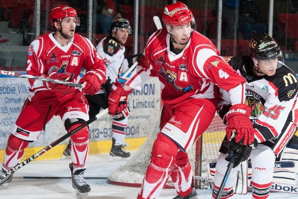 Cornwall River Kings resign Lacasse and Parisien