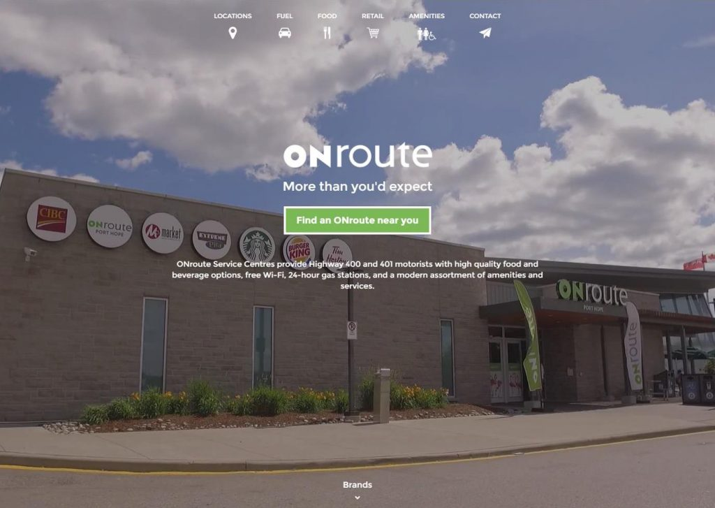 ONroute.ca Website