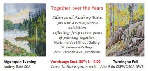 Together over the Years - Vernissage @ St.Lawrence College |  |  |