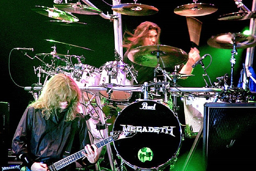 Shawn Drover Megadeth