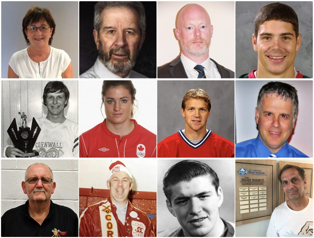 Cornwall Sports Hall of Fame 2018 Inductees