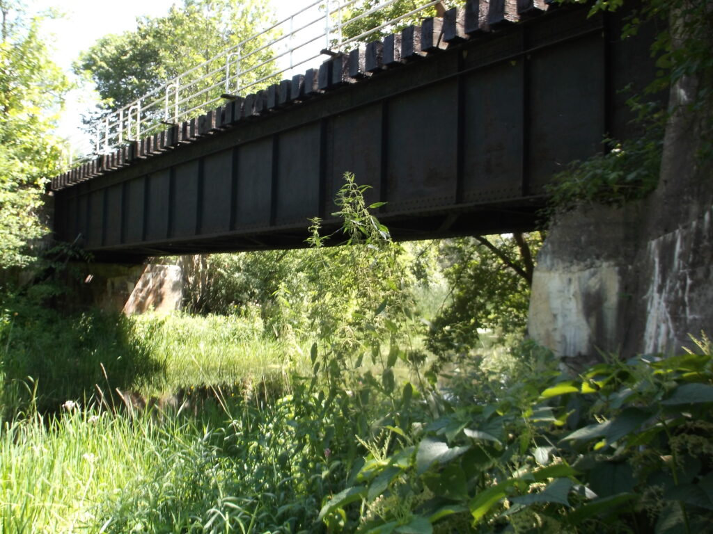 Peanut Line bridge, south side of Road 19 to Williamstown.